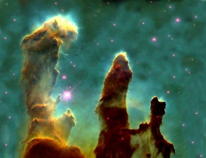 pillars-of-creation-a-star-forming-gas-and-dust-region-within-the-eagle-nebula-m16-or-ngc-6611-a-young-open-cluster-of-stars-6500-light-years-away-in-serpens-cauda